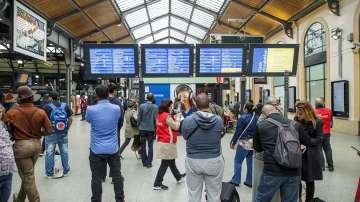 Авария временно спря високоскоростните влакове Талис и Евростар