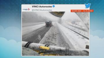 Студ и сняг сковаха югоизточна Франция