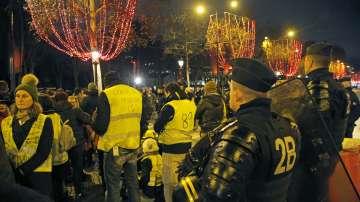 Отново полицейски протест във Франция