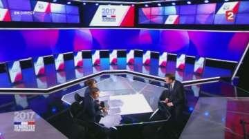 Как протече кандидатпрезидентският дебат във Франция?