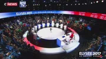 Френските кандидати за президент участваха в маратонски дебат