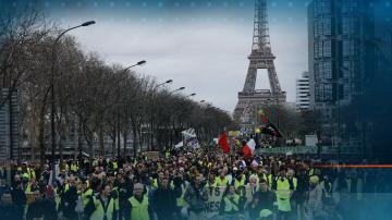 16-ти протест на жълтите жилетки във Франция