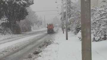 Сняг създава проблеми във Франция и Сърбия