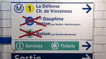Заради националната стачка: И днес е затруднено придвижването в Париж