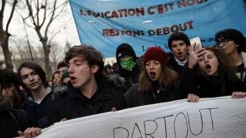 Черен вторник за образованието във Франция
