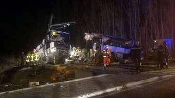 Четири деца загинаха при катастрофа във Франция