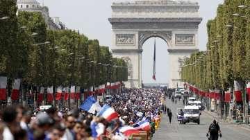 Преименуваха шест метростанции в Париж в чест на световните шампиони