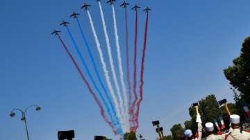 Франция отбеляза националния си празник с традиционен пищен парад
