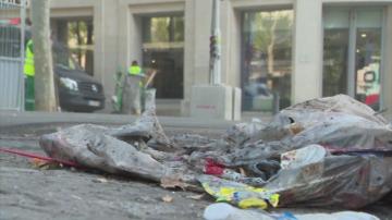 Размирици във Франция след мач на Алжир