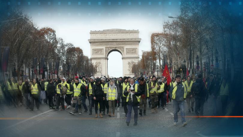 Във Франция започна четвъртият мащабен протест на жълтите жилетки. Взети