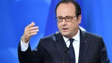 Франсоа Оланд призова всички да гласуват за Макрон