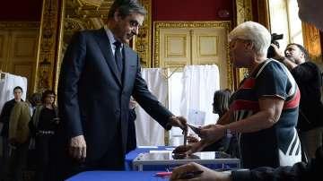 Франсоа Фийон гласува в изборите за президент на Франция