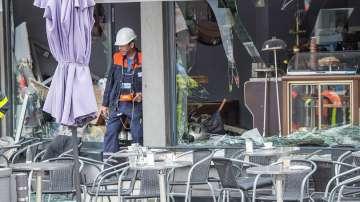 Няколко ранени при експлозия в кафене в германския град Франкфурт