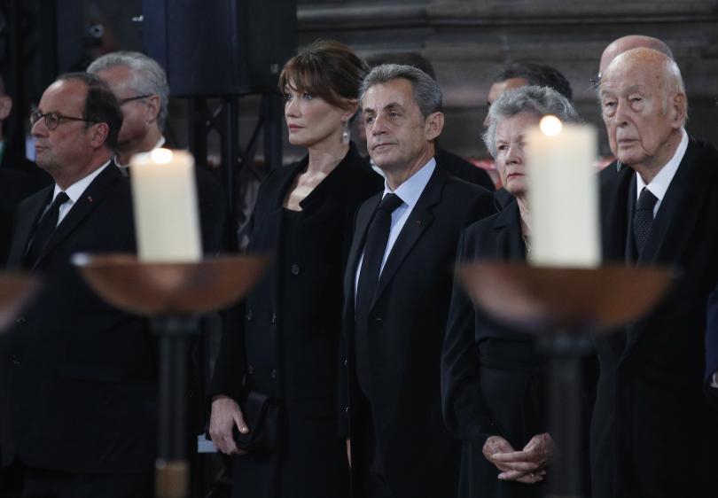 снимка 3 Световни лидери се поклониха пред Жак Ширак