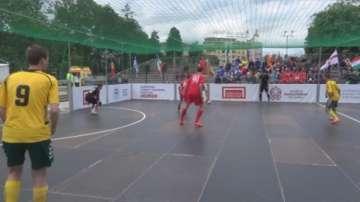 В Осло се провежда Световното първенство по футбол за бездомни