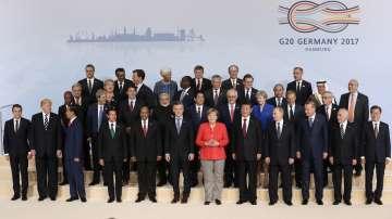 Първи ден на срещата на върха Г-20 в Хамбург
