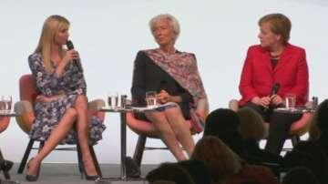 Освиркаха Иванка Тръмп на форума Жените 20