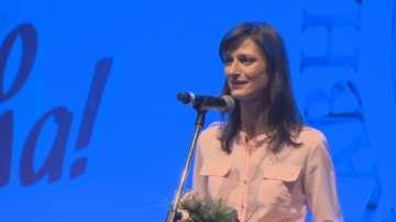 Еврокомисарят Мария Габриел се срещна с деца влогъри