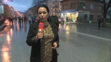 В Габрово започна третия пореден протест след побоя над служител в магазин