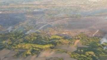 Горски пожари в Галисия