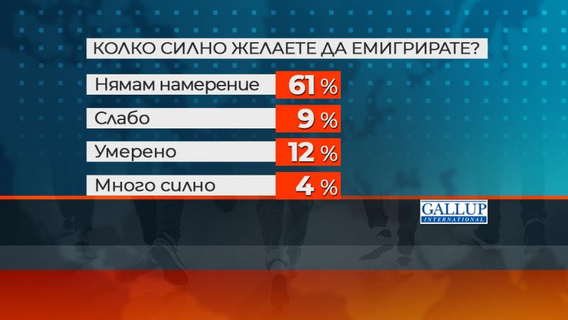 снимка 1 Ново проучване: Все по-малко млади българи планират да емигрират в чужбина