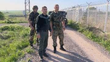 Екип на БНТ патрулира на границата