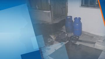 Взрив на газова бутилка в Русе