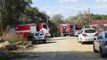 Трима души обгоряха при газова експлозия в благоевградското село Покровник