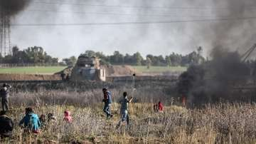 Двама палестинци загинаха при израелски въздушен удар в Ивицата Газа