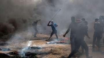 18 палестинци са загинали при сблъсъци в Газа
