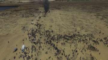 Израелската армия е поразила обекти на Хамас в ивицата Газа