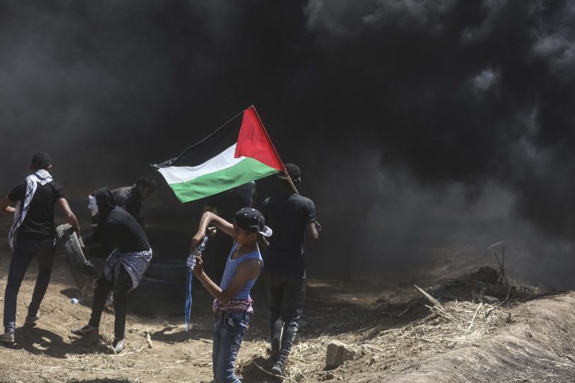 двама палестинци загинаха протести границата газа израел