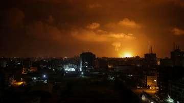 Израелската армия нанесе въздушни удари по цели на Хамас в ивицата Газа