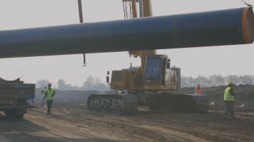 Започна строежът на преносния газопровод за Балкански поток през България