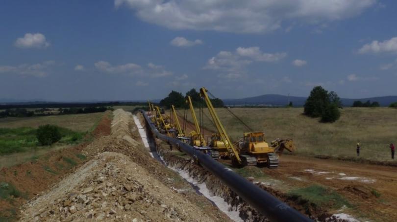 """снимка 1 Борисов откри част от разширеното трасе на """"Балкански поток"""""""