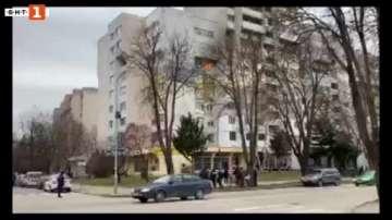 Двама души са пострадали при пожар в жилището им в Силистра
