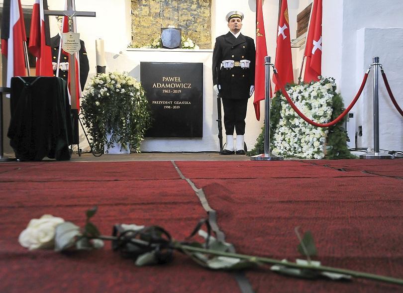 Последно сбогом с убития кмет на Гданск