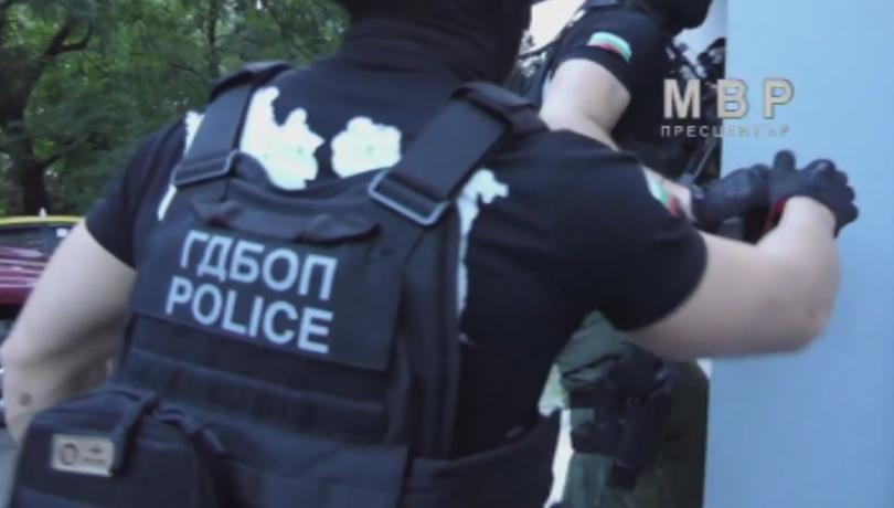 Спецоперация на ГДБОП срещу група за изнудвания в Бургас