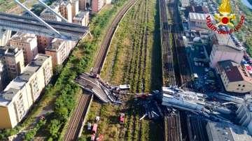 Срутилият се мост в Генуа няма да се възстановява  от стопанисващата го фирма