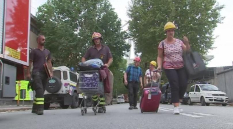 Поредица земетресения разлюляха Южна Италия през изминалата нощ, като най-силното
