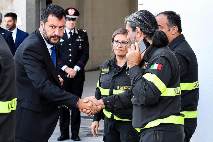 снимка 2 Навършва се една година от трагедията с моста Моранди в Генуа