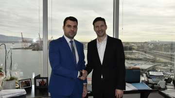 Георг Георгиев се срещна с директора на Световния търговски център във Ванкувър