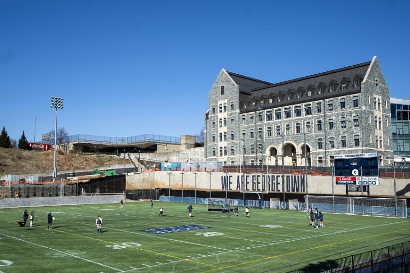 Университетът в Джорджтаун, Вашингтон, също е замесен в скандала