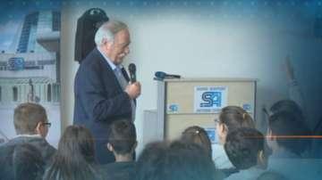 Първият български космонавт Георги Иванов с открит урок за ученици