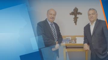 Депутатът Георги Марков се срещна с унгарския премиер Виктор Орбан