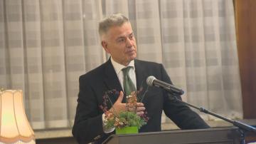 Посланикът на Япония у нас връчи държавен орден на Георги Стоев