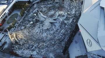 Разрушиха един от най-големите стадиони в САЩ (СНИМКИ)