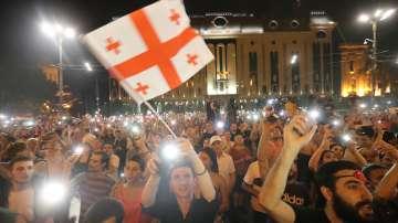 Четвърти ден на антиправителствените протести в Грузия