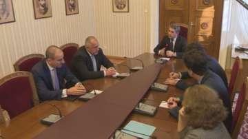 Политически консултации на ГЕРБ с президента