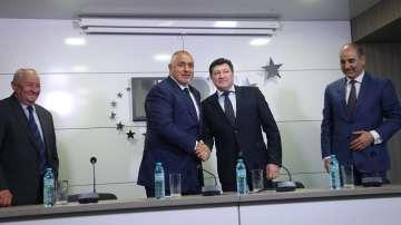 ГЕРБ и ПП Никола Петков подписаха споразумение
